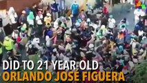 Venezuelan Protesters Set Fire to Young Black Man