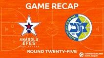 Highlights: Anadolu Efes Istanbul - Maccabi FOX Tel Aviv