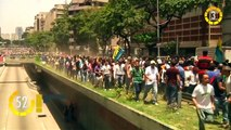 In 60 Seconds: Venezuelan Opposition Supporters Clash With Police