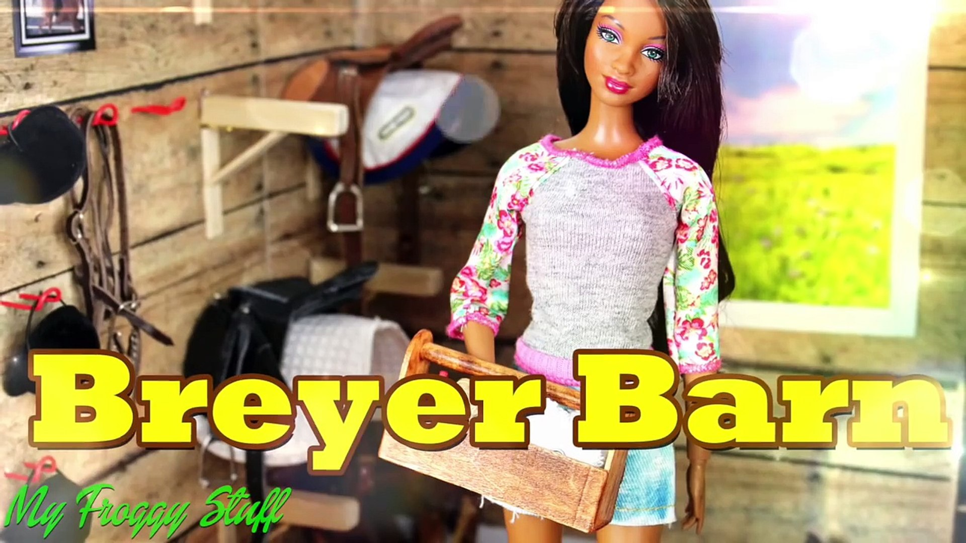 Diy How To Make Doll Breyer Horse Barn Tack And Feed Room Handmade Doll Crafts Video Dailymotion