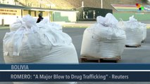 Bolivian Government Seizes Tons of Cocaine Headed to the U.S.