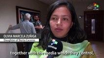 Honduras: Berta Caceres Denounces Official Investigation