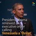 Obama Renews Executive Order  Calling  Venezuela a 'Threat'
