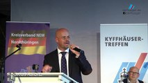 Andreas Kalbitz (AfD) spricht klartext - Rede beim Kyffhäusertreffen 2017