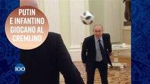 I campioni del calcio? Putin e Infantino