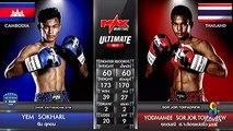 Yem Sokharl, Cambodia, vs Yodmamee Sor Jor Toypaetrew, Thai, 17 September 2017, Max Muay Thai