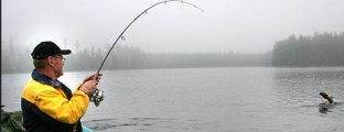 Fish hunting,imagining skilled man fishing by arrow,Smart Fishing Technique