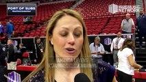 Semifinals Game 2 Post Game: Amanda Levens Interview