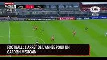 Football : l'arrêt de l'année pour un gardien mexicain (vidéo)