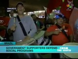 Brazil: Government Supporters Defend Social Programs
