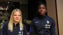 Equipe de France Féminine: le message d'encouragement de Griedge MBock, ambassadrice de la Coupe du Monde FIFA U20 I FFF 2018