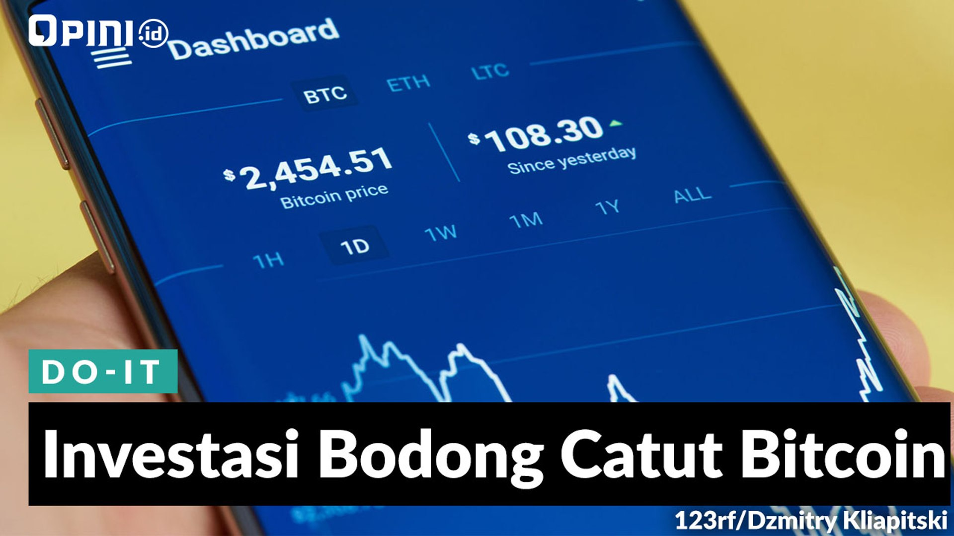 1menit Investasi Bodong Catut Bitcoin Video Dailymotion