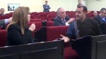 Zonguldak CHP'li Meclis Üyesi, MHP'li Kadın Meclis Üyesinin Üzerine Yürüdü