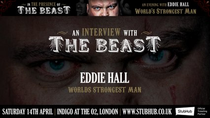 """Eddie """"The Beast"""" Hall Interview by Combat & Strength"""