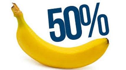Czy dzielimy 50% DNA z BANANEM