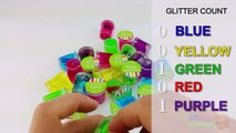 Learn Colours With Ooze & Glitter Putty! Fun Learning Contest!