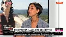 """Malade, arnaquée par ses producteurs... Sheryfa Luna raconte ses années difficiles sur le plateau de """"Morandini Live"""" - VIDEO"""