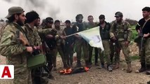 PKK/YPG�li teröristler köşeye sıkıştı, TSK ve ÖSO teröristleri böyle