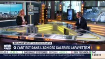 "Les Galeries Lafayette ouvrent leur fondation d'art contemporain ""Lafayette Anticipations"" - 08/03"
