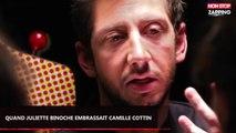 Juliette Binoche a 54 ans : Revivez son baiser avec Camille Cottin (vidéo)