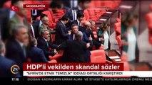 HDP'li vekilden skandal iddia