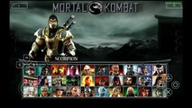 PPSSPP Emulator 0.9.6.2 for Android | Mortal Kombat Unchained [720p HD] | Sony PSP