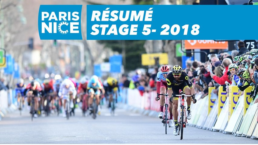 Résumé - Étape 5 - Paris-Nice 2018