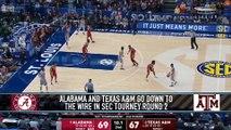 Collin Sexton Hits Buzzer-Beating Layup to Send Alabama to SEC Quarterfinals