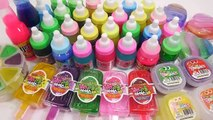 Slime Combine Colors Mix Clay Learn Colors & Toy Shooting Car Surprise Eggs Toys