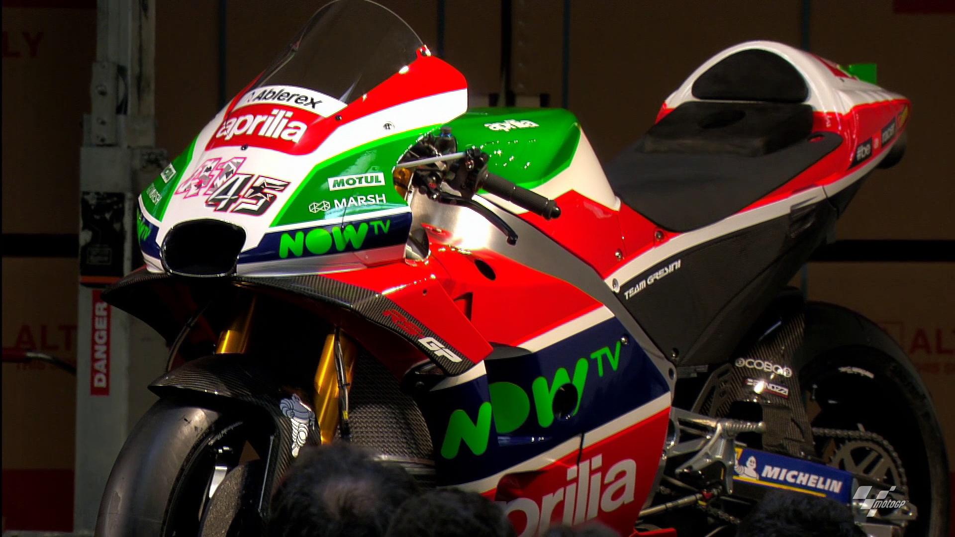 2018 Aprilia MotoGP Presentation