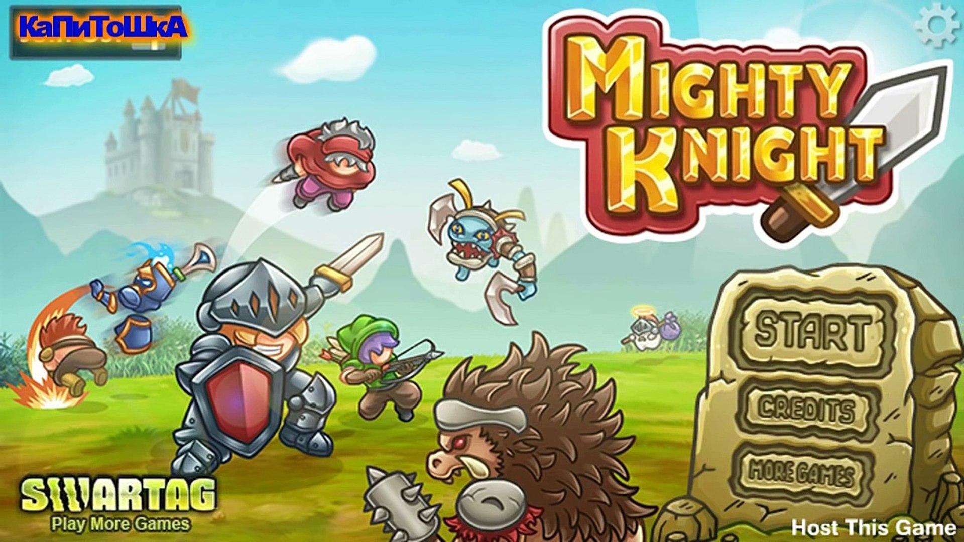 Флеш игра Могучий рыцарь/game Mighty Knight. Мультик игра для мальчиков.часть 2