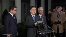 South Korea's Chung Eui-Yong Says Trump Has Agreed to Meet With Kim Jong Un