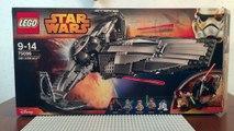 Lego Star Wars 75096 Sith Infiltrator |LEGO Звездные войны Разведывательный корабль ситхов 75096