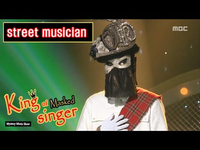 [King of masked singer] 복면가왕 - 'street musician' 2round - Lifetime   20160605