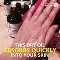 Anti-Aging Oil Cures Cracked Heels, Acne, Wrinkles and Age Spots