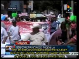 Clashes between police and protesters intensify in Chilpancingo Mexico