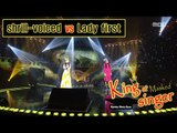 [King of masked singer] 복면가왕 - 'shrill-voiced' vs 'Lady first' - I Love You Even I Hate You 20160515