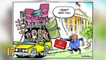 Donald Trump's Inauguration in Cartoons