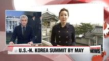 S. Korean President Security Adviser Says Trump to Meet N. Korea's Kim by May; White House Confirms Meeting
