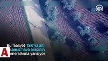 Afrin�de teröristlerin sivilleri katlettiği tuzaklama anları görüntülend