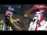 [King of masked singer] 복면가왕 - Check it out VS Most beauty Uhwudong - Even In Another Life 20160110