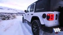 SNOW WHEELING SERENITY - Jeep JL Wrangler Rubicon Off Road in the Snow