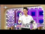 [RADIO STAR] 라디오스타 - Kim Yong-jun showed his fencing skill! 20150916