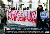 Chile: Mapuches' hunger strike continues