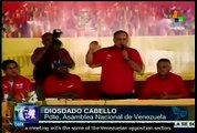 'If we want peace to prevail, we need justice': Diosdado Cabello