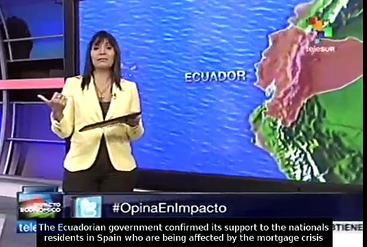 Ecuador to help nationals hit by Spanish crisis