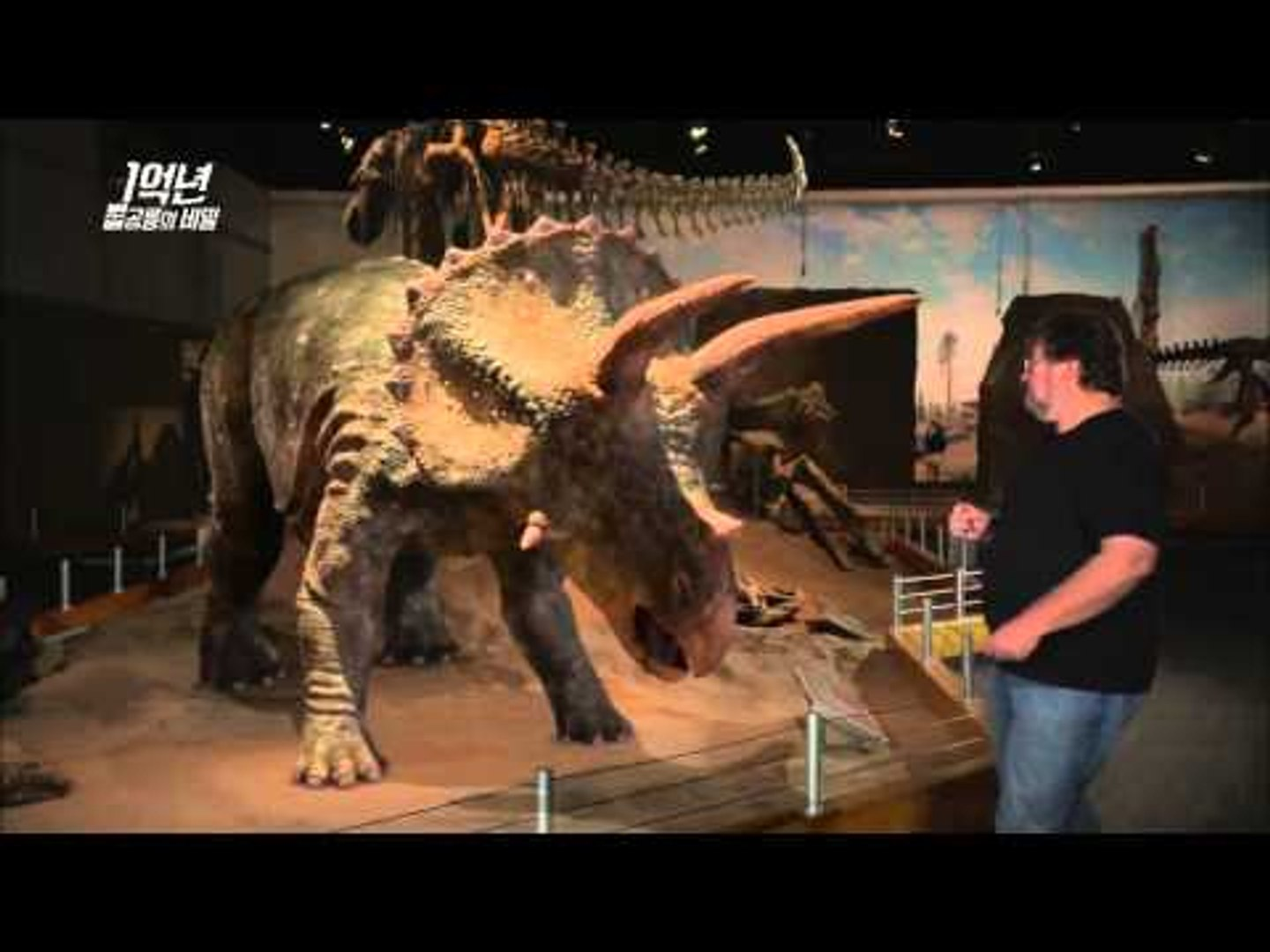When two great dinosaurs fight, who will be winner? MBC Documentary Special 20140127