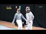 K-Pop Star Olympics, W Fencing, #11, 여자 펜싱 20120725