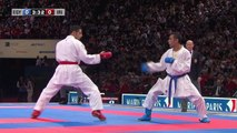 Final Male Kumite -67kg. Magdy Hanafy vs Saeid Ahmadikaryani. WKF World Karate Championships new