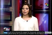 South Africa in solidarity with Venezuela following violent events